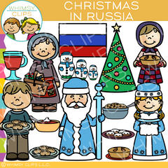 Christmas In Russia Clip Art
