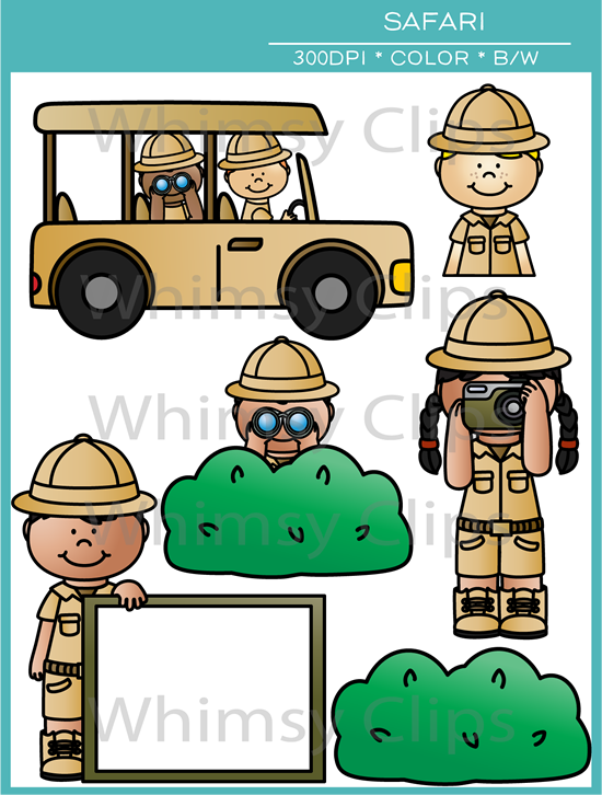 Clip Art Safari Clip Art kids safari clip art images illustrations whimsy clips art