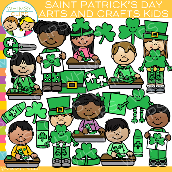 Crafty St. Patrick's Day Clip Art