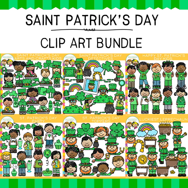 Little Bits of Whimsy Clips: Saint Patrick's Day Clip Art Bundle