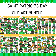Saint Patrick's Day Clip Art Bundle