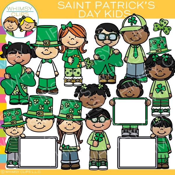 Saint Patrick's Day Kids Clip Art