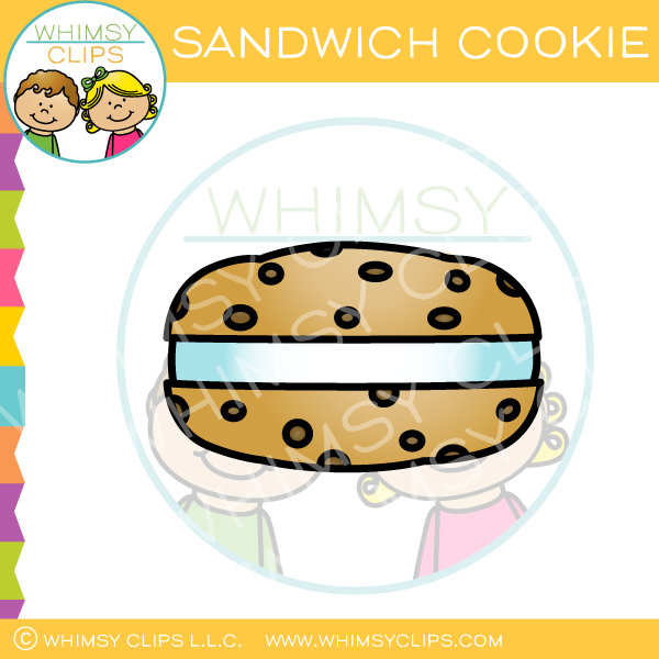 Sandwich Cookie Clip Art