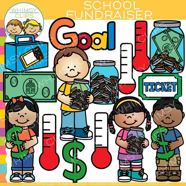 School Fundraiser Clip Art