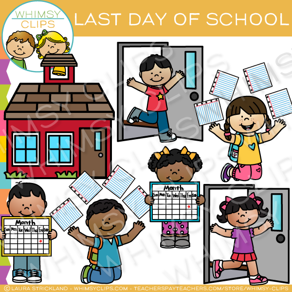 Last Day of School Clip Art