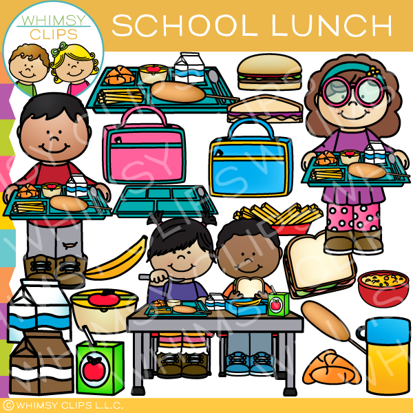 school lunch clip art images illustrations whimsy clips rh whimsyclips com school meals clipart school lunch menu clipart