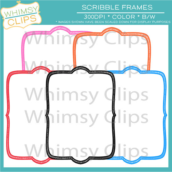 Free Scribble Frames