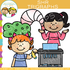 Beginning Trigraphs Clip Art
