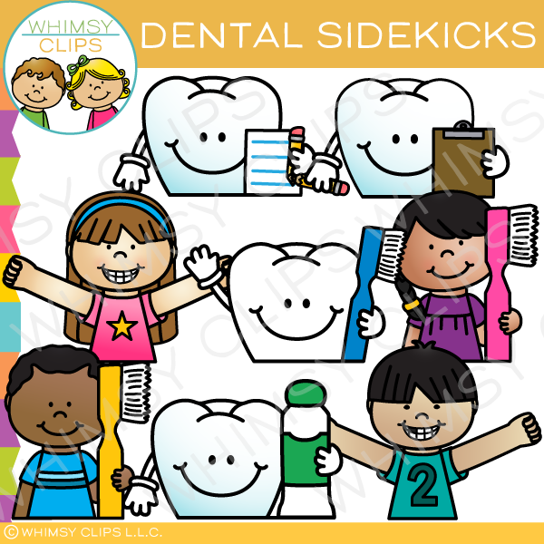 Dental Health Sidekicks Clip Art