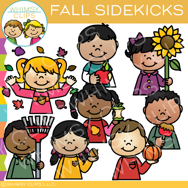 Sidekicks Fall Clip Art