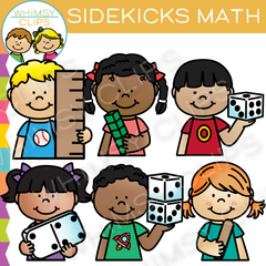 Sidekicks Math Clip Art