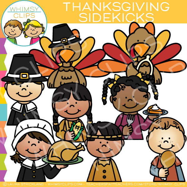 Sidekicks Thanksgiving Clip Art