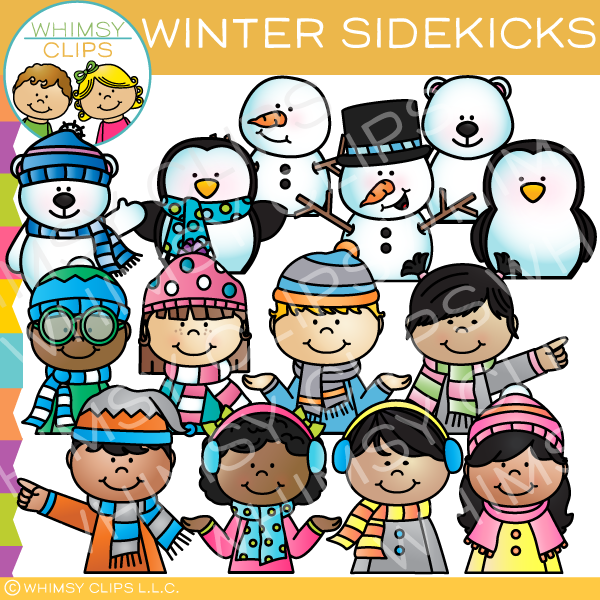 Winter Sidekicks Clip Art