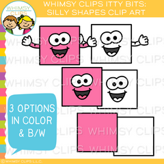 Silly Shapes Clip Art