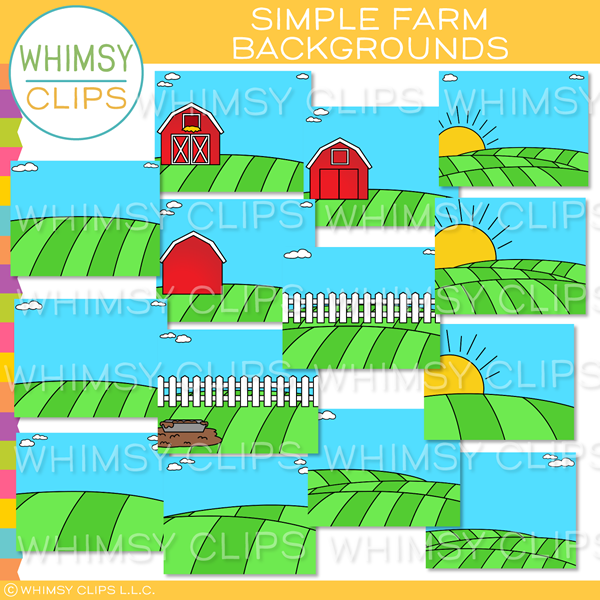 Simple Farm Backgrounds