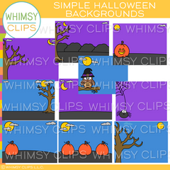 Simple Halloween Backgrounds