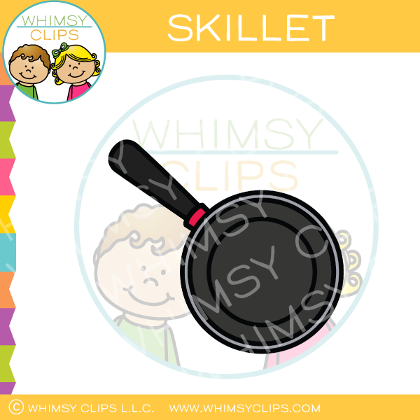 Empty Cooking Skillet Clip Art