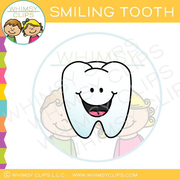 Smiling Tooth Clip Art