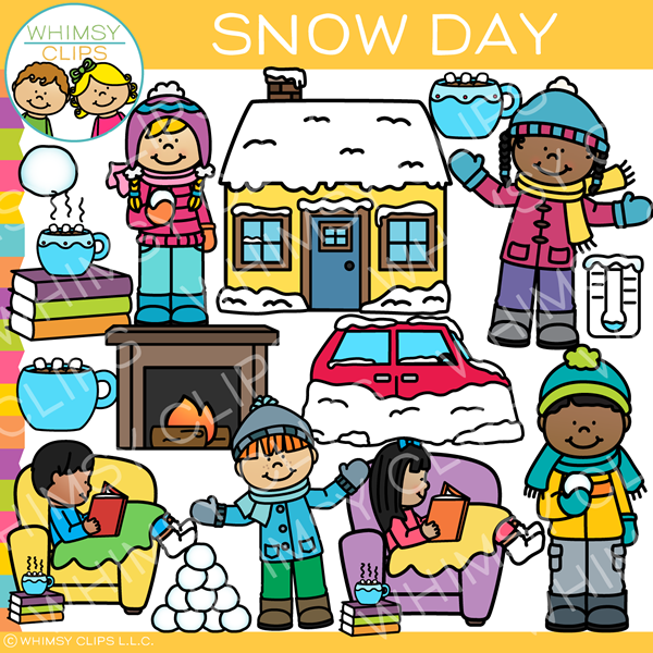 Snow Day Clip Art