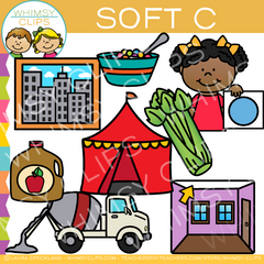 Soft C Words Clip Art