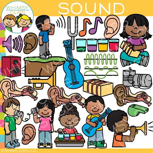Kids Sound Clip Art - Form of Energy