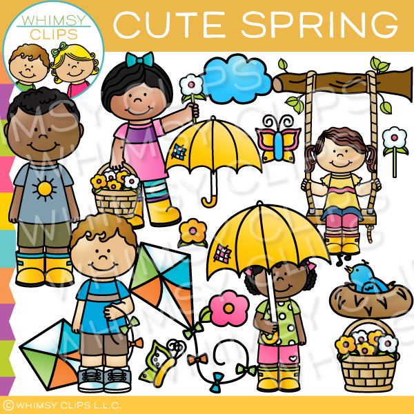Days of Spring Clip Art