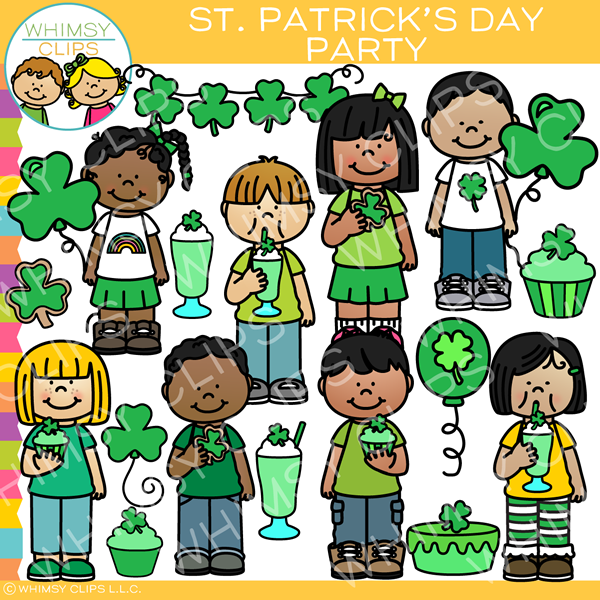 Saint Patrick's Day Party Clip Art
