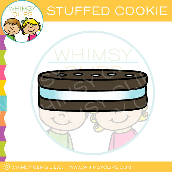 Stuffed Cookie Clip Art