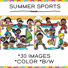 Summer Sports Clip Art