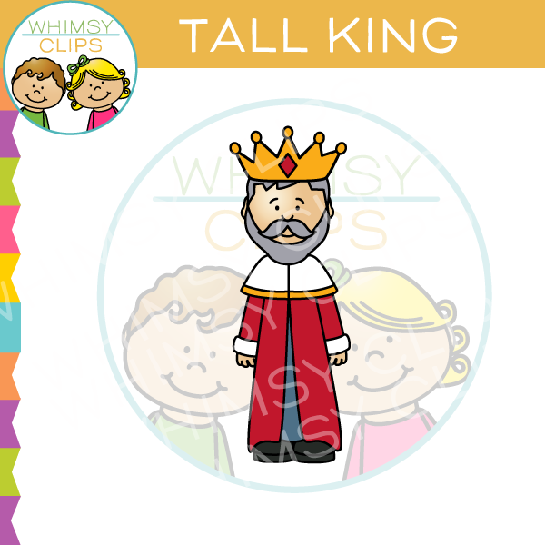 Tall King Clip Art