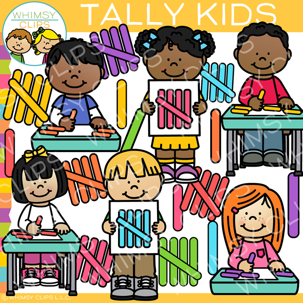 Tally Mark Clip Art