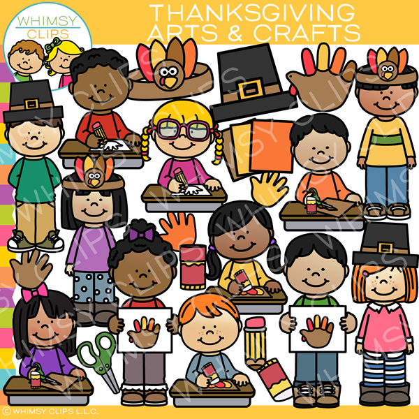 Thanksgiving Arts and Crafts Clip Art