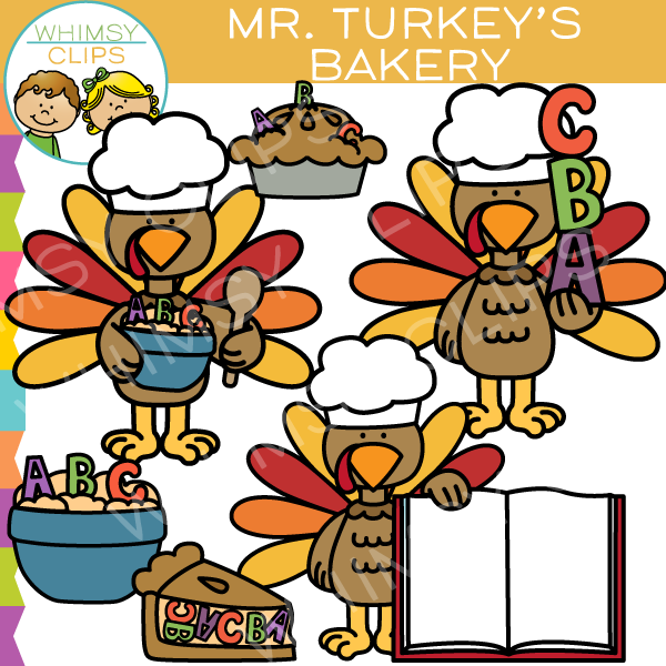 Free Mr Turkey's Bakery Clip Art