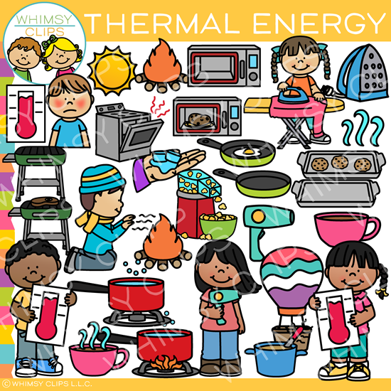 Thermal Heat Energy Clip Art