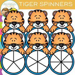 Tiger Spinner's Clip Art