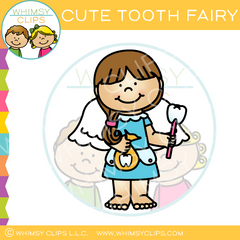 Cute Tooth Fairy Clip Art