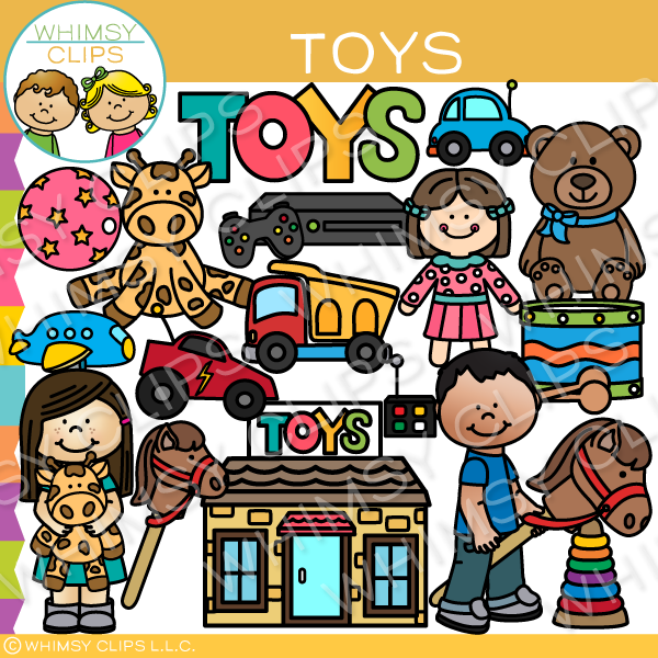 Kids Toy Clip Art