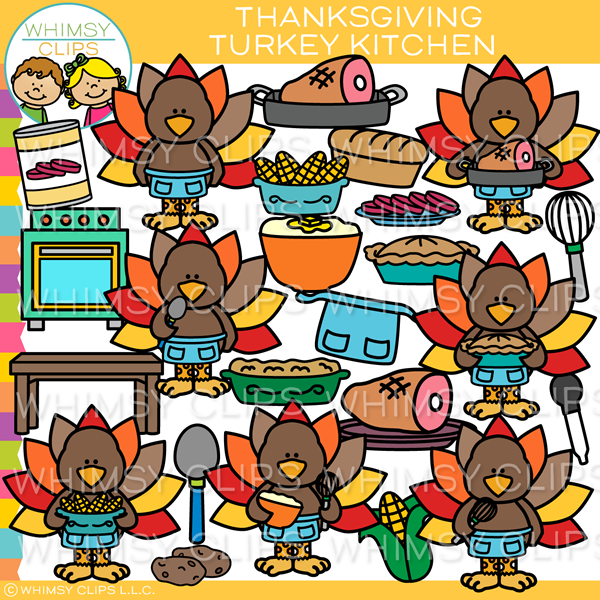 Turkey Kitchen Clip Art