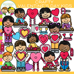 Valentine's Day Crafts Clip Art