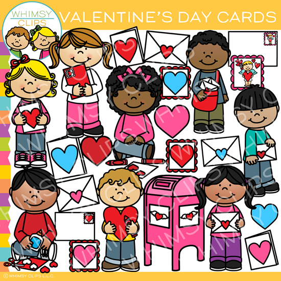 Valentine's Day Cards Clip Art