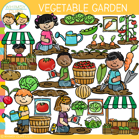 Vegetable Garden Clip Art