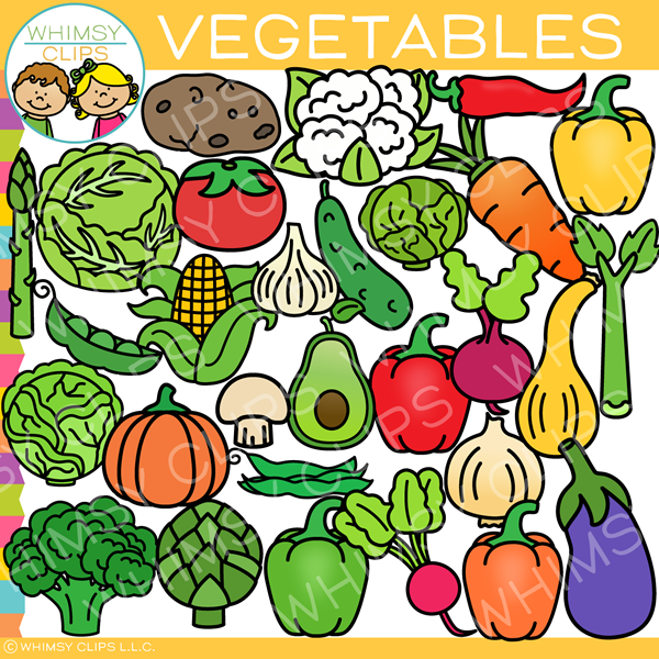 Food Group Vegetables Clip Art
