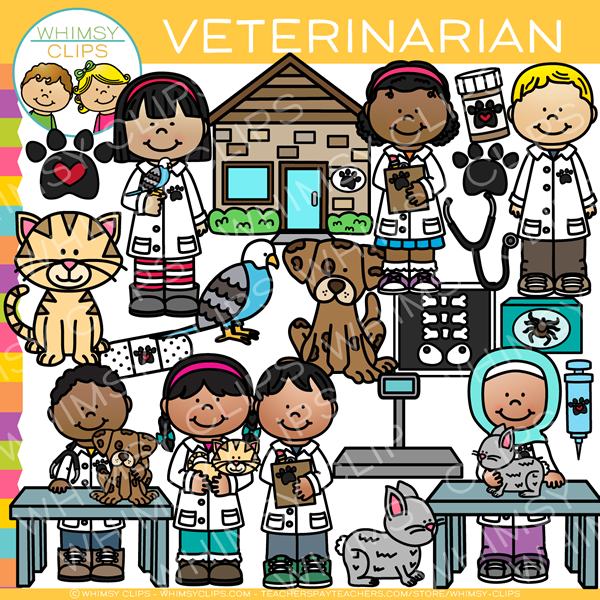 Kids Veterinarian Clip Art