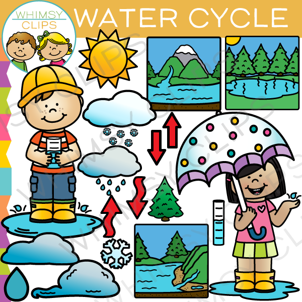 water cycle clip art images illustrations whimsy clips rh whimsyclips com water cycle clipart black and white water cycle clipart