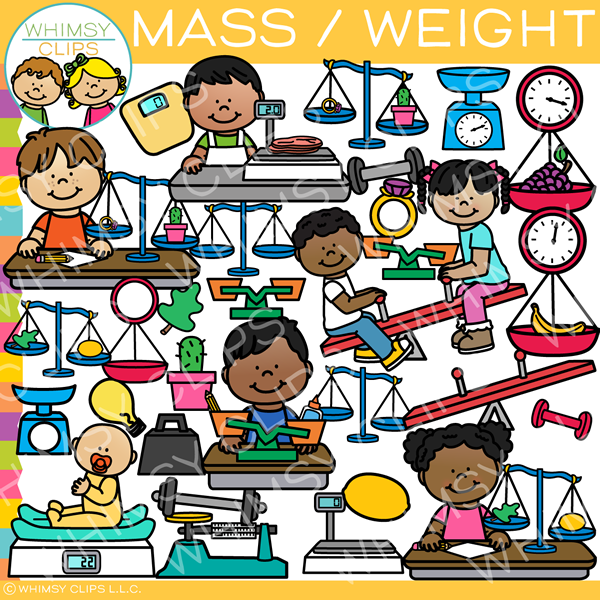 Mass and Weight Clip Art