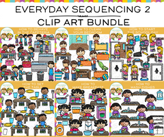 Sequencing Clip Art