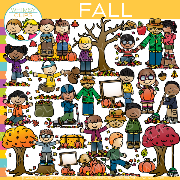 Days of Fall Clip Art