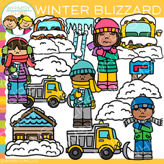 Winter Blizzard Clip Art