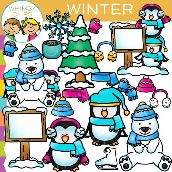 Cute Winter Clip Art