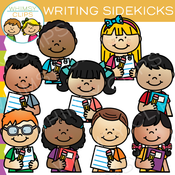 Writing Sidekicks Clip Art